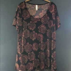 Beauty and the Beast Roses LuLaRoe Classic T
